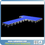 Estágio do diodo emissor de luz da fábrica de China que dobra o estágio portátil para o Sell