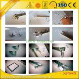Il profilo di alluminio d'argento anodizzato del LED per le strisce del LED con progetta