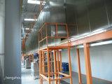 Chaîne de production de pulvérisation de poudre électrostatique pour l'ascenseur