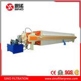 Prensa de filtro automática de membrana con el dispositivo auto del desplazamiento de la placa
