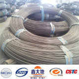 alambre del concreto pretensado de la alta tensión 1670MPa de 10.00m m