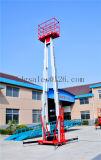 elevatori dell'elevatore del lavoro aereo dell'albero della lega di alluminio 8meters (GTWY8-200S)