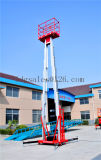 Elevadores de la elevación del trabajo aéreo del mástil de la aleación de aluminio (GTWY8-200S)