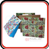 Custom Handmade Papel impresso Papelão Office Expanding File Folder