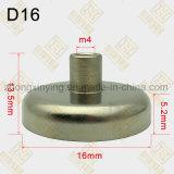 D16mm Sterke Magnetische die Basis voor Holding wordt ontworpen