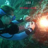 Hoozhu U22 Tauchens-Licht CREE Xml 2 LED-maximale 1000 Lumen imprägniern 100m die tauchende Lampe
