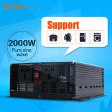 CC di Morego 2000W all'invertitore solare puro dell'onda di seno di CA