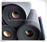 Feuille en caoutchouc d'industrie avec l'extension, UE, certificats ISO9001 d'usine