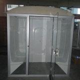 Sitio de vapor de interior de las personas mojadas de la sauna 2