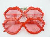 Óculos de sol vermelhos do partido e da novidade dos bordos (GGM-225)