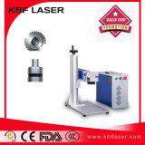 Het bewegen van de Draagbare Machine van de Graveur van de Laser van de Vezel voor Koper /Aluminium/ Tiatanium/ABS