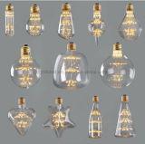 MTX Wholesale Edison LED ampoule à économie d'énergie ST64 dans tout le ciel Star arbre de noël 4WATT lampe LED Décoration E27