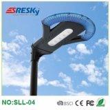 El poder más elevado integra la iluminación al aire libre del paisaje de la luz de la calle de la lámpara solar solar del jardín con poste