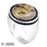 Nieuwe Juwelen 925 van de Manier van de Aankomst de Zilveren Ring van Juwelen