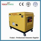 Générateur de diesel de pouvoir refroidi par air silencieux du générateur 8kVA monophasé