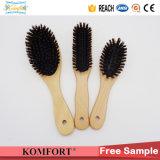 Les balais de cheveu en bois de Detangling de brin de verrat de FSC vendent en gros (JMFH-122)