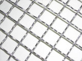 Liso cobriu o engranzamento de fio tecido curvado/engranzamento de fio frisado