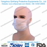 Медицинский устранимый 3ply Nonwoven вздыхатель Facemask (тип) Earloop Qk-FM010