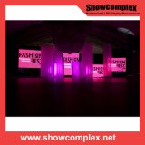 Pantalla de visualización a todo color de interior de LED del alquiler de Showcomplex 7m m SMD para los acontecimientos
