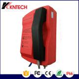 Teléfono de dial auto a prueba de mal tiempo del teléfono Knsp-18t de Kntech resistente