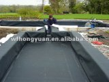 Membrana impermeable de EPDM vulcanizada de 1.2-2.0mm con anti-UV