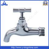 Bibcock de boyau de robinet en laiton (YD-2024)