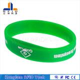 Wristband astuto flessibile impermeabile del silicone di RFID
