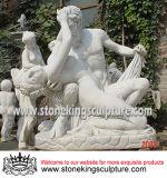 Scultura di scultura di marmo bianca naturale (SK-2056)