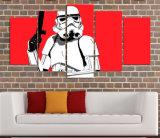 HDは突撃隊員の赤い絵画キャンバスの版画室の装飾プリントポスター映像のキャンバスMc140を印刷した