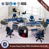 Breve Design Office Partition, Practical con Side Cabinet Workstation (HX-6M175)