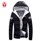 Man's 3 Colors Leisure Midweight Winter Coat com jaquetas com capuz