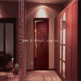 Hölzernes Korn Belüftung-lamellenförmig angeordnete dekorative Folie/Film für Möbel/Tür/Schrank/Wandschrank