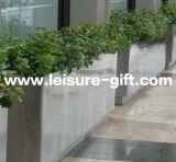 Potenciômetro de flor de Outdoor&Indoor do jardim do retângulo do aço Fo-9051 inoxidável