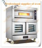 Handelsgas-Mischungs-Ofen mit Proofer