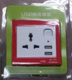 Стенные розетки, стенные розетки USB, всеобщий USB стенной розетки