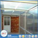 Im Freien Antiabsinken-Deckel-Dachspitze-Regen-Schutz-Polycarbonat-Blatt