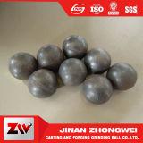 Billes de meulage élevées, moyennes, inférieures de fer de moulage de chrome, bille de meulage de medias de chrome élevé