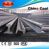 Rail en acier ferroviaire 6kg, 9kg, 12kg, 15kg, 18kg, 22kg, 24kg, etc.