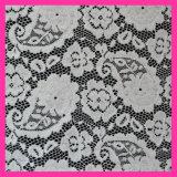Tissu en nylon de lacet d'Eastic de mode pour Dress142