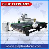 Machine universelle de travail du bois d'éléphant bleu, machines 1837 d'axe de la commande numérique par ordinateur 3 pour le jouet en bois