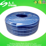 Boyau flexible bleu de PVC pour le boyau de l'eau d'irrigation de l'eau