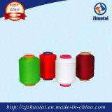 El Spandex del poliester 100%/de la poliamida 4070/24f del precio de fábrica cubrió el hilado para la tela