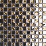 Tuiles de mosaïque de mélange en verre et en métal - K03 Luxe