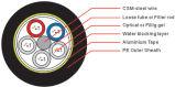 المستوية إلتوائات ألومنيوم شريط ضوء مدرعّة [أبتيكل فيبر كبل] ([د176/د178])