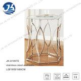 Tabella di estremità esagonale dell'acciaio inossidabile con Glassare-Vetro