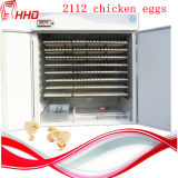 CE Full Automatic Incubator de 2112 ovos para Hatching Eggs