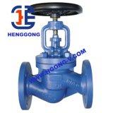 Valvola di globo industriale dell'acciaio di getto della flangia dell'olio di ANSI/DIN