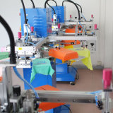 길쌈된 부대를 위한 자동적인 스크린 인쇄 기계