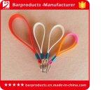 Colhedores amigáveis da cinta do silicone de Eco com logotipo impresso