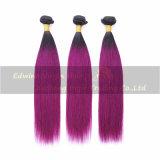 Weave человеческих волос хорошего качества ранга 7A